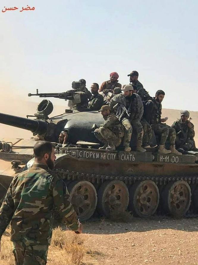 Chiến sự Syria: Quân Assad quét sạch IS trên sa mạc đông Hama ảnh 1