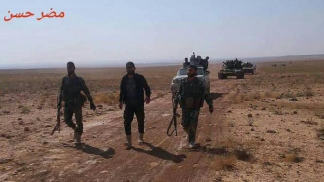 Chiến sự Syria: Quân Assad quét sạch IS trên sa mạc đông Hama ảnh 2
