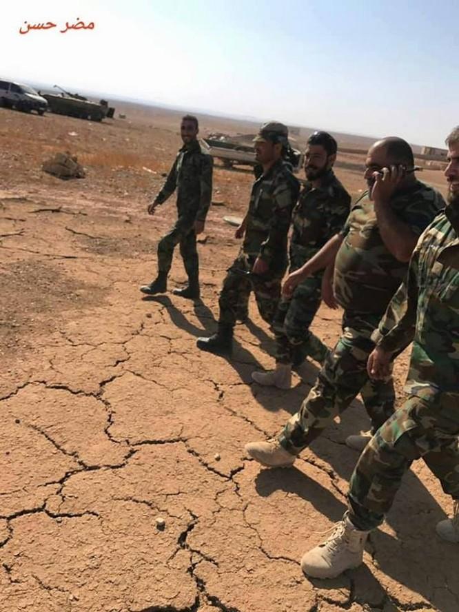 Chiến sự Syria: Quân Assad quét sạch IS trên sa mạc đông Hama ảnh 4