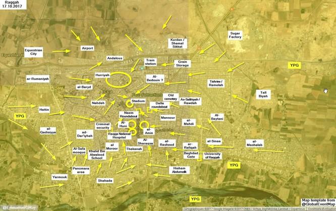 """IS """"nhường"""" sào huyệt Raqqa cho người Kurd để cứu mạng sống ảnh 2"""