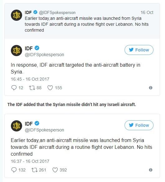 """Syria phóng tên lửa """"đánh trúng"""" siêu tiêm kích F-35 Israel? ảnh 1"""