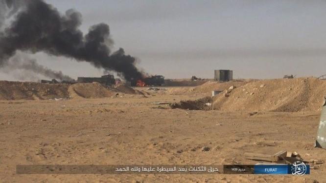 IS khiến quân đội Syria sa lầy tại mặt trận nam Deir Ezzor ảnh 4