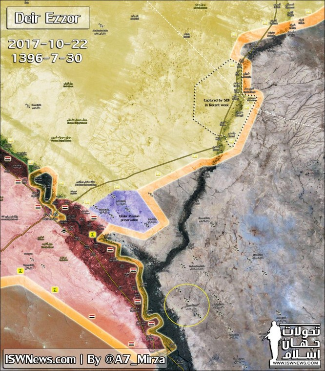 """Người Kurd chiếm mỏ dầu Omar, """"Hổ Syria"""" nuốt hận quay về diệt IS ở Deir Ezzor (chùm video) ảnh 1"""
