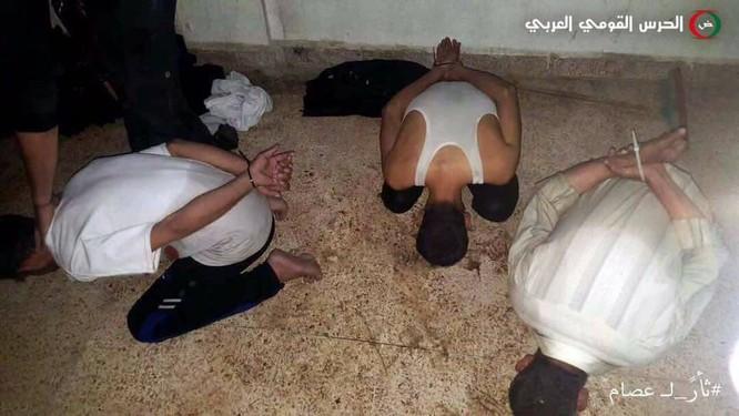 Đặc nhiệm Syria bắt sống một chỉ huy chiến trường phiến quân tại đông Damascus ảnh 2