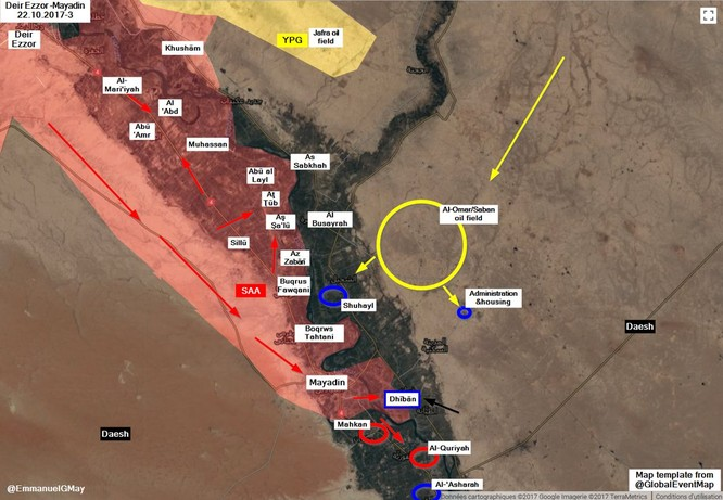 """Syria: Người Kurd """"đi đêm"""" với IS mỏ dầu chiến lược Omar ảnh 1"""