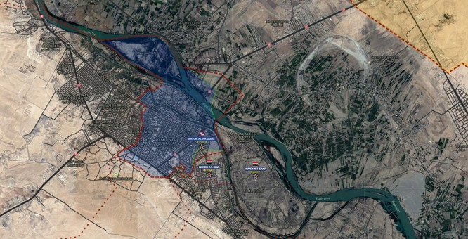 """Hổ Syria"" tung đòn dồn diệt IS tại Deir Ezzor ảnh 1"