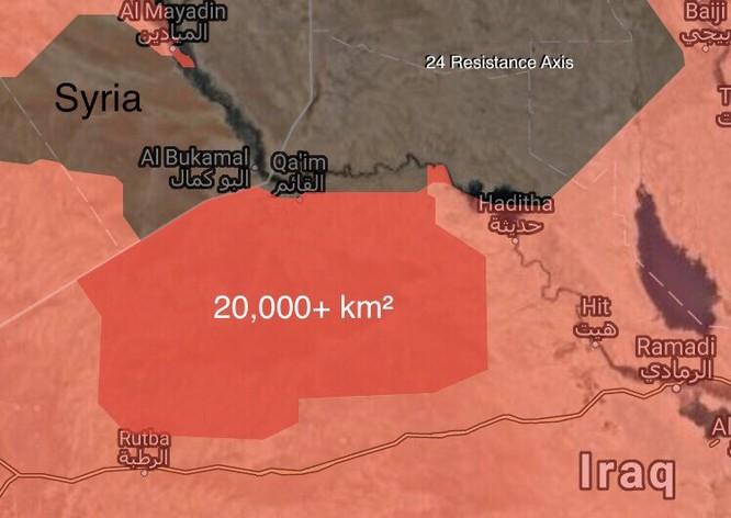 IS dồn toàn binh lực cầm chân quân đội Syria, Iraq thừa thế giải phóng đất nước ảnh 1