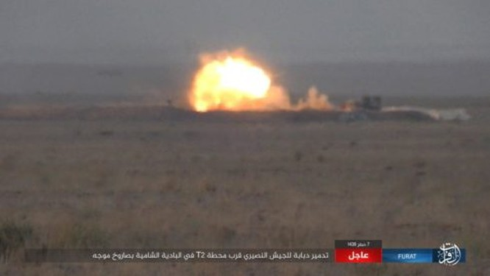 Quân Syria uy hiếp thành trì cuối của IS, phiến quân tử thủ al-Bukamal ảnh 1
