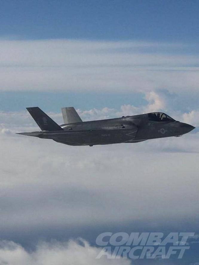 Phi đội F-35B Mỹ sẵn sàng chiến đấu với Triều Tiên (video) ảnh 2