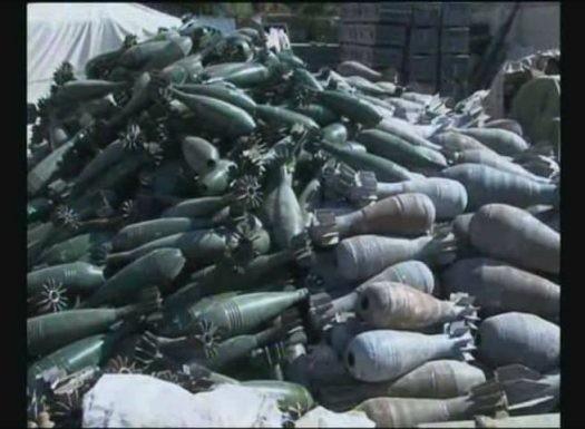 Quân đội Syria phát hiện kho vũ khí khủng của IS ảnh 4