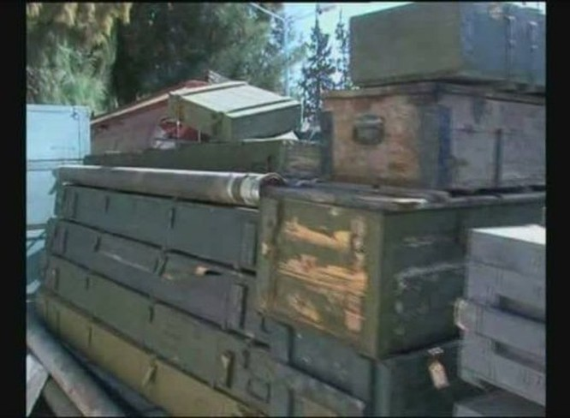 Quân đội Syria phát hiện kho vũ khí khủng của IS ảnh 6