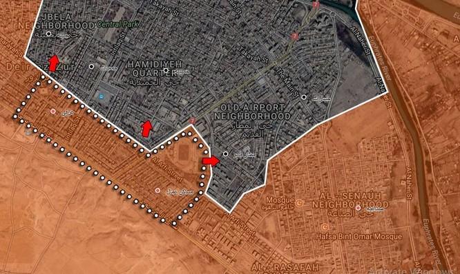Quân đội Syria siết chặt vòng vây, quyết nghiền nát IS tại Deir Ezzor ảnh 1
