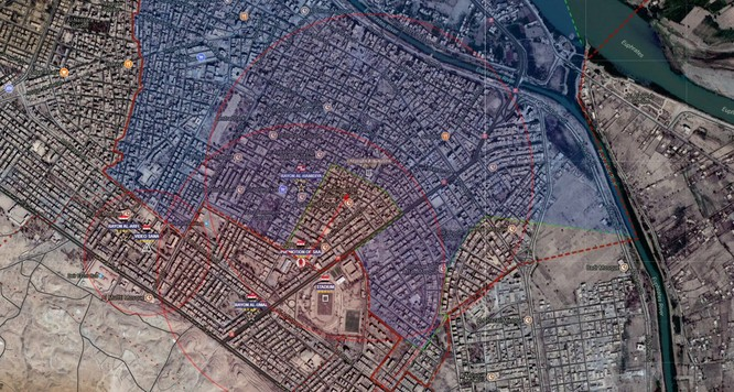 """Hổ Syria"" truy diệt IS trong chảo lửa Deir Ezzor (video) ảnh 1"
