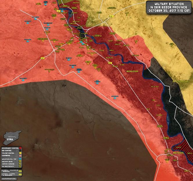 Quân đội Syria siết chặt vòng vây, quyết nghiền nát IS tại Deir Ezzor ảnh 2