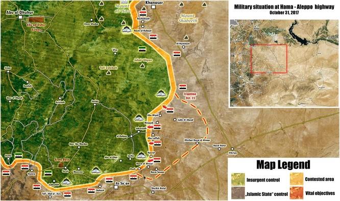 Quân đội Syria đạp tan al Qaeda, chiếm 5 địa bàn phiến quân tại Hama ảnh 1