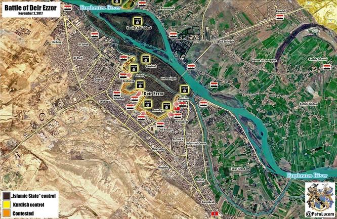 """""""Hổ Syria"""" tung đòn hạ IS, giải phóng liên tiếp các quận Deir Ezzor ảnh 2"""