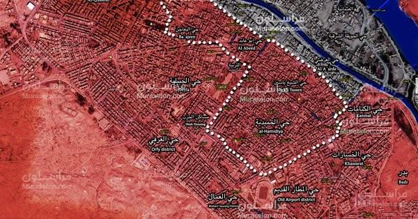 """""""Hổ Syria"""" tung đòn hạ IS, giải phóng liên tiếp các quận Deir Ezzor ảnh 3"""