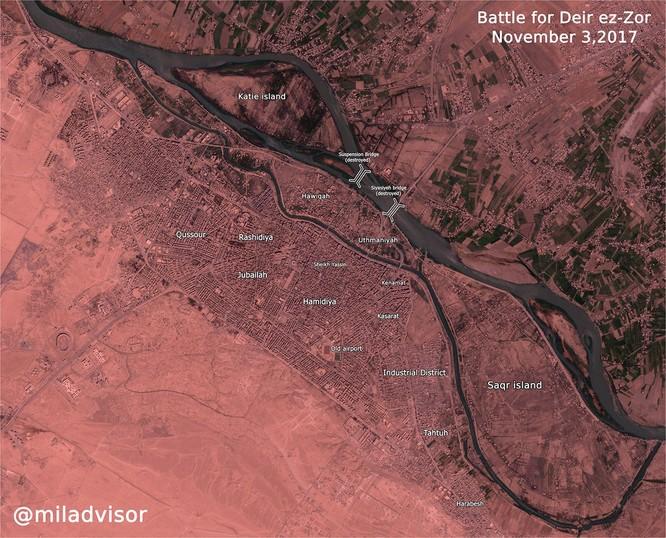 """Syria: Mỹ-Kurd """"thả"""" IS đào thoát khỏi tử địa Deir Ezzor ảnh 2"""