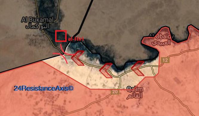 Chiến sự Syria: Quân Assad ồ ạt đánh hạ thành trì cuối cùng của IS (video) ảnh 1