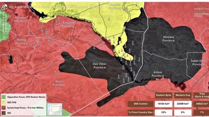"""Chiến sự Syria: Hàng ngàn thủ lĩnh, chiến binh IS """"bỗng dưng biến mất"""" khỏi chiến trường Deir Ezzor ảnh 1"""