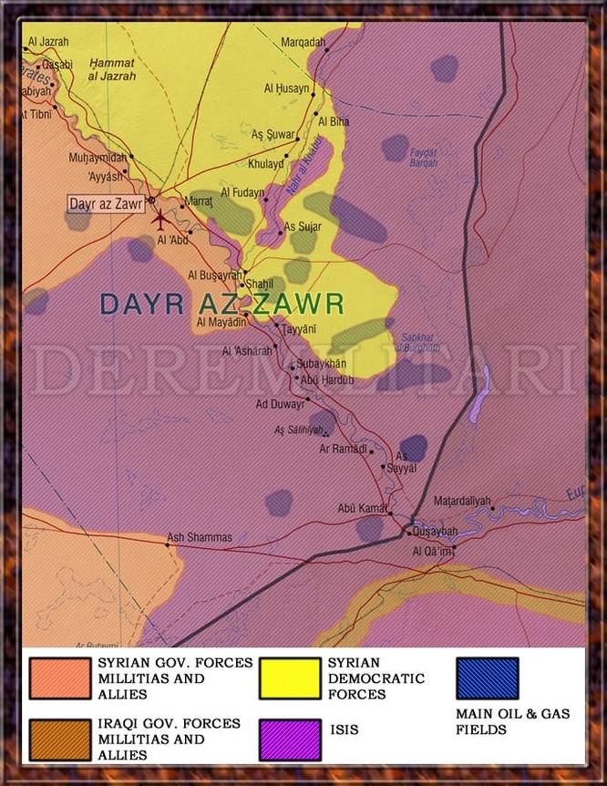 IS sắp bại vong, người Kurd thừa cơ chiếm hàng loạt mỏ dầu tại Deir Ezzor ảnh 1