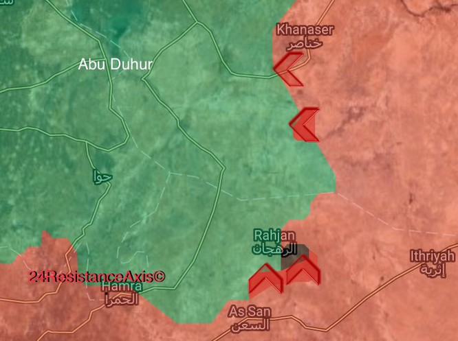 Quân Syria đập tan phiến quân al Qaeda, chiếm 6 khu vực tại Hama ảnh 2