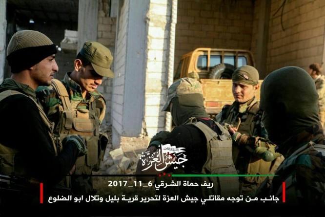 Phiến quân Syria Mỹ hậu thuẫn phản công lớn trên chiến trường Hama ảnh 1