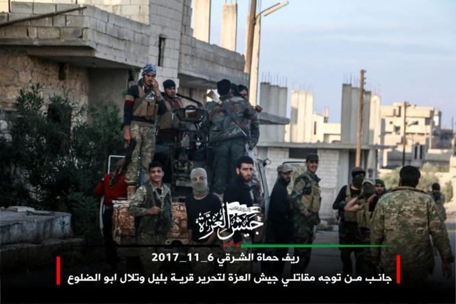 Phiến quân Syria Mỹ hậu thuẫn phản công lớn trên chiến trường Hama ảnh 2