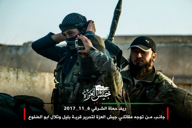 Phiến quân Syria Mỹ hậu thuẫn phản công lớn trên chiến trường Hama ảnh 3