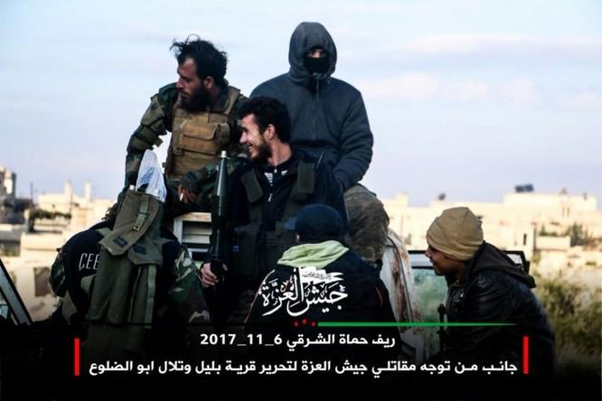 Phiến quân Syria Mỹ hậu thuẫn phản công lớn trên chiến trường Hama ảnh 4