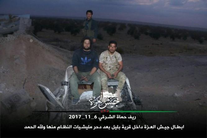 Phiến quân Syria Mỹ hậu thuẫn phản công lớn trên chiến trường Hama ảnh 6