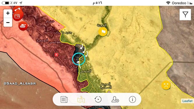 """IS """"tháo khoán"""", người Kurd chiếm 6 địa bàn đông Deir Ezzor (video) ảnh 1"""