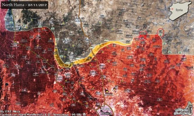 Chiến sự Syria: Quân Assad đập tan đè bẹp khủng bố, giành lại cứ địa tại Hama ảnh 1