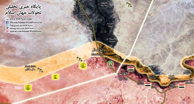 Quân đội Syria-Iraq nhất tề tiến đánh IS ảnh 1