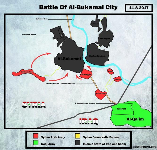 Quân đội Syria-Iraq nhất tề tiến đánh IS ảnh 2