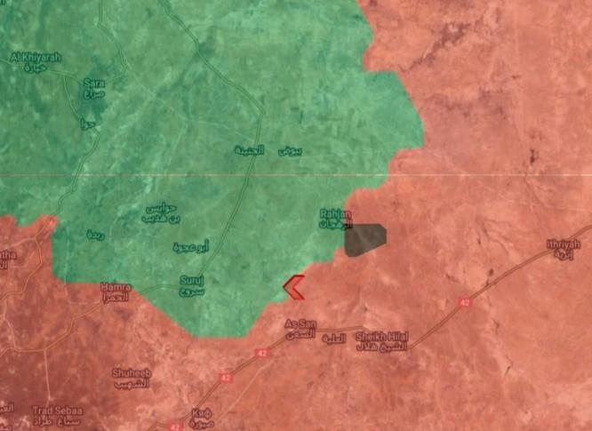 Quân đội Syria đánh nống trên mặt trận Hama (video) ảnh 1