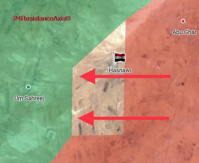 Quân đội Syria đánh nống trên mặt trận Hama (video) ảnh 2