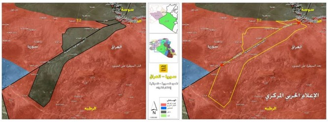 Quân đội Syria-Iraq đánh tan IS, kiểm soát vùng biên giới hai nước ảnh 1