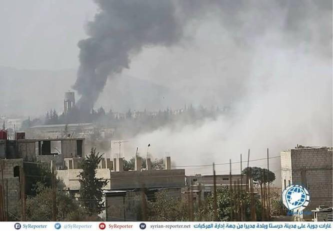 Nga không kích dồn dập buộc phiến quân ven Damascus ngừng bắn ảnh 2