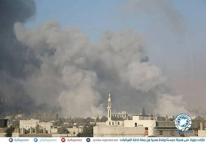Nga không kích dồn dập buộc phiến quân ven Damascus ngừng bắn ảnh 3