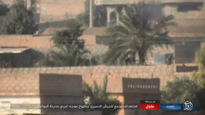 Liên quân Mỹ ngăn chặn quân đội Syria đánh vào sào huyệt IS tại AbuKamal ảnh 3