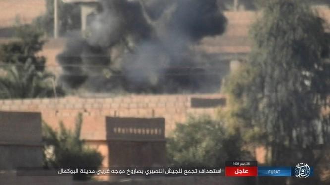 Liên quân Mỹ ngăn chặn quân đội Syria đánh vào sào huyệt IS tại AbuKamal ảnh 4