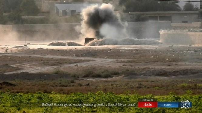 Liên quân Mỹ ngăn chặn quân đội Syria đánh vào sào huyệt IS tại AbuKamal ảnh 8