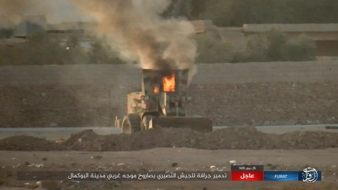 Liên quân Mỹ ngăn chặn quân đội Syria đánh vào sào huyệt IS tại AbuKamal ảnh 9