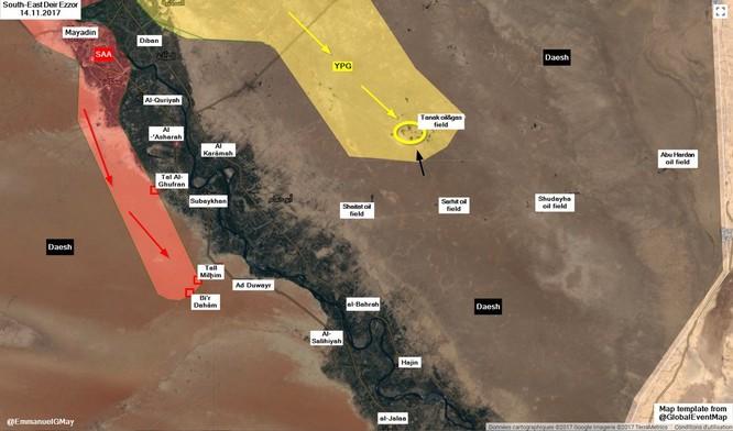 IS nã pháo phản lực giáng trả người Kurd càn quét Euphrates ảnh 2