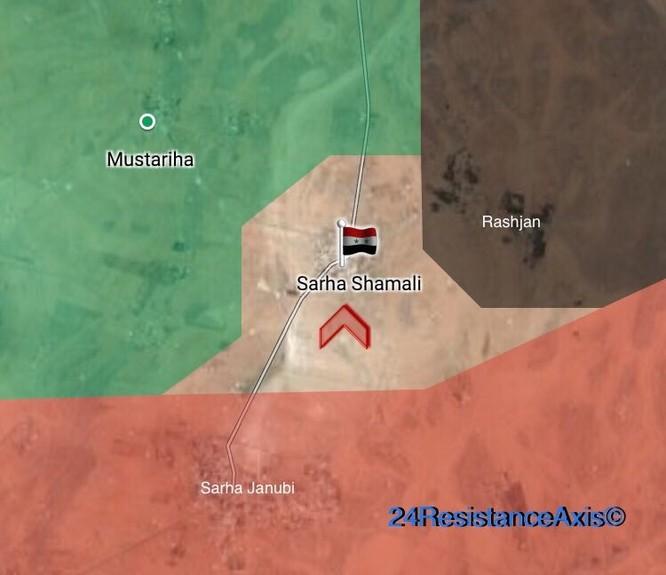 Quân Syria nghiền nát phiến quân chiếm cứ địa tại bắc Hama (video) ảnh 1