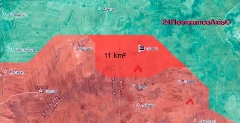 Quân Syria nghiền nát phiến quân chiếm cứ địa tại bắc Hama (video) ảnh 2