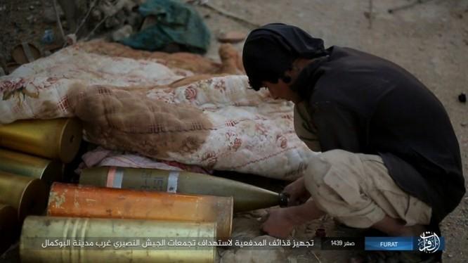 Liên quân Syria tung đòn tiêu diệt IS tại tử địa Albukamal (video) ảnh 1
