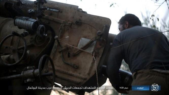 Liên quân Syria tung đòn tiêu diệt IS tại tử địa Albukamal (video) ảnh 3