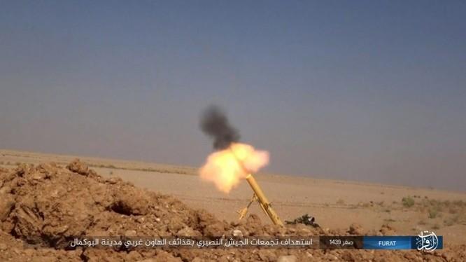 Liên quân Syria tung đòn tiêu diệt IS tại tử địa Albukamal (video) ảnh 5